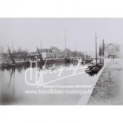 1e kanaalsbrug met Emmakade